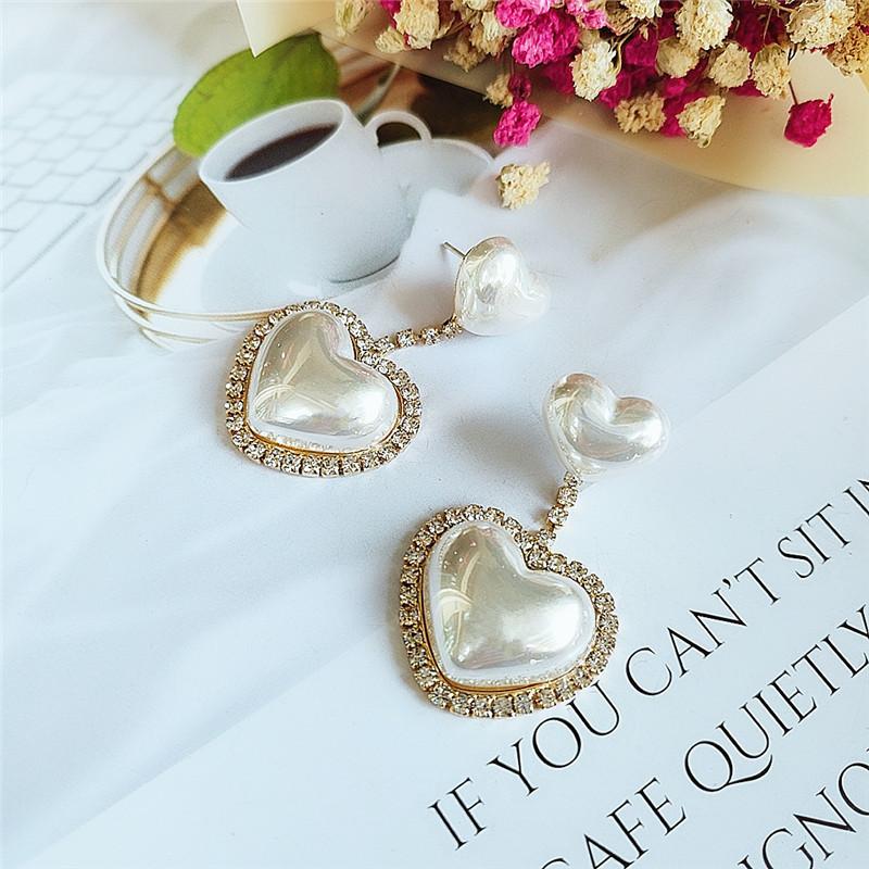 Pendientes de diamantes de moda pendientes de mujer al por mayor NHVA186018