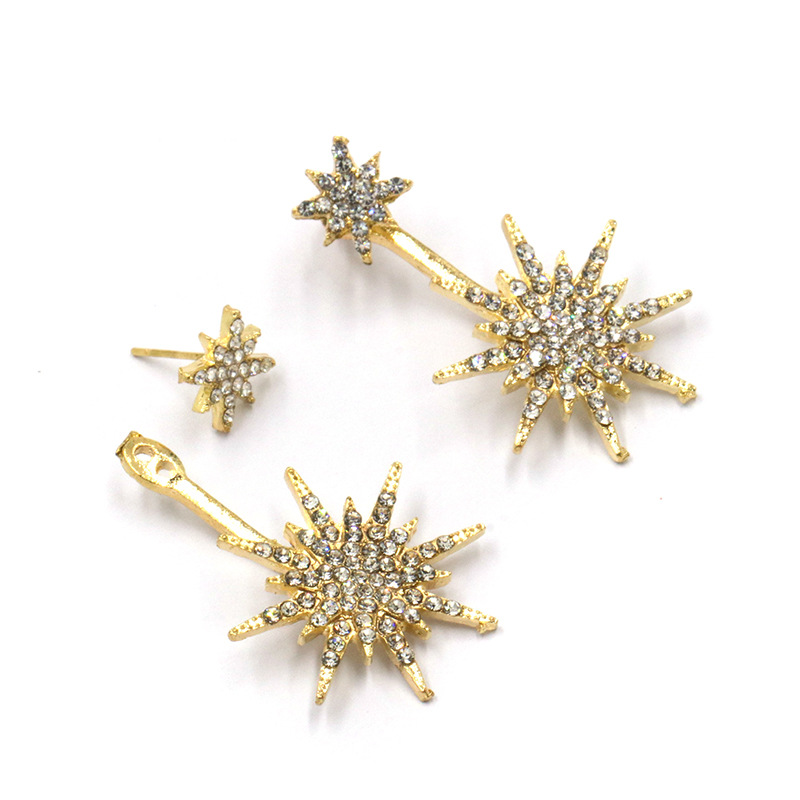Alloy Fashion Geometric earring(Gold)Fashion Jewelry NHJJ5576-Gold