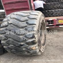 26.5R25 6噸60鏟車 高性價比二手鋼絲利用修補輪胎  前進三角風神