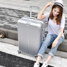 萬向輪拉桿箱鋁框行李箱24寸28密碼箱子20批發皮箱女韓版22旅行箱