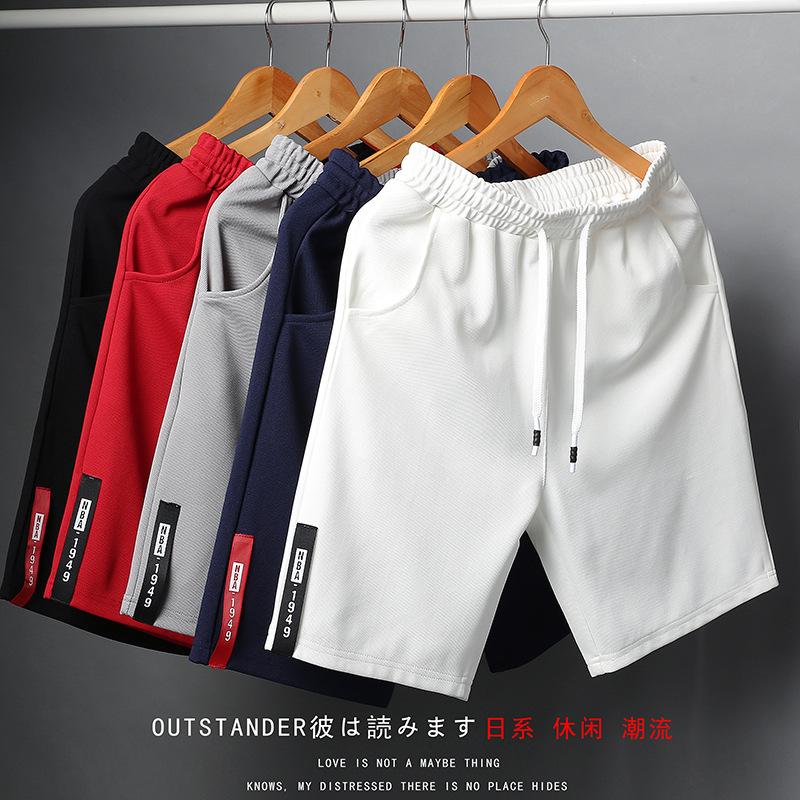 跨境亚马逊新款潮流2021夏季沙滩裤男士裤子休闲时尚短裤男5分裤