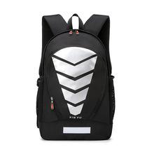 廠家直銷  2019新款防水男士電腦包雙肩包大容量印花休閑旅行背包