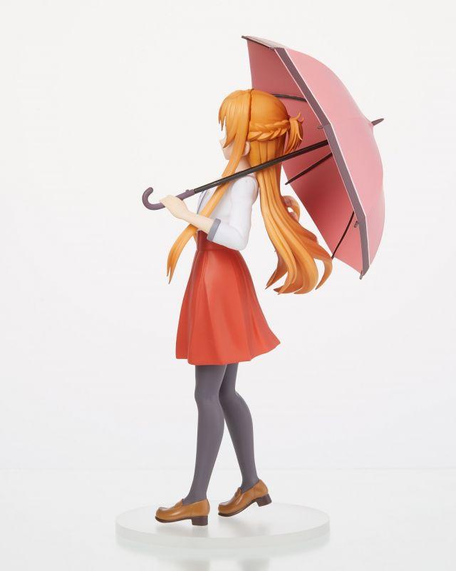 "Anime Sword Art Online SAO Yuuki Asuna Casual Dress w//Umbrella 6/"" Action Figure"