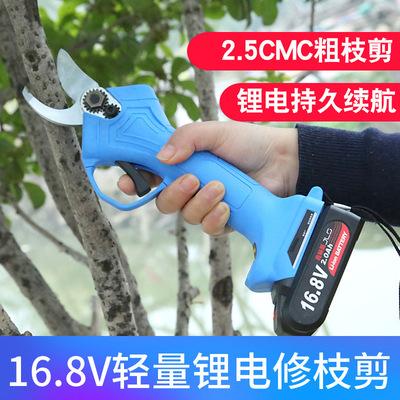 修枝剪家用电动充电式电动果树剪刀剪树枝粗枝剪园艺背负式剪枝机
