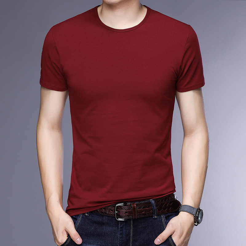 T-shirt homme - Col rond - Ref 3409000 Image 6