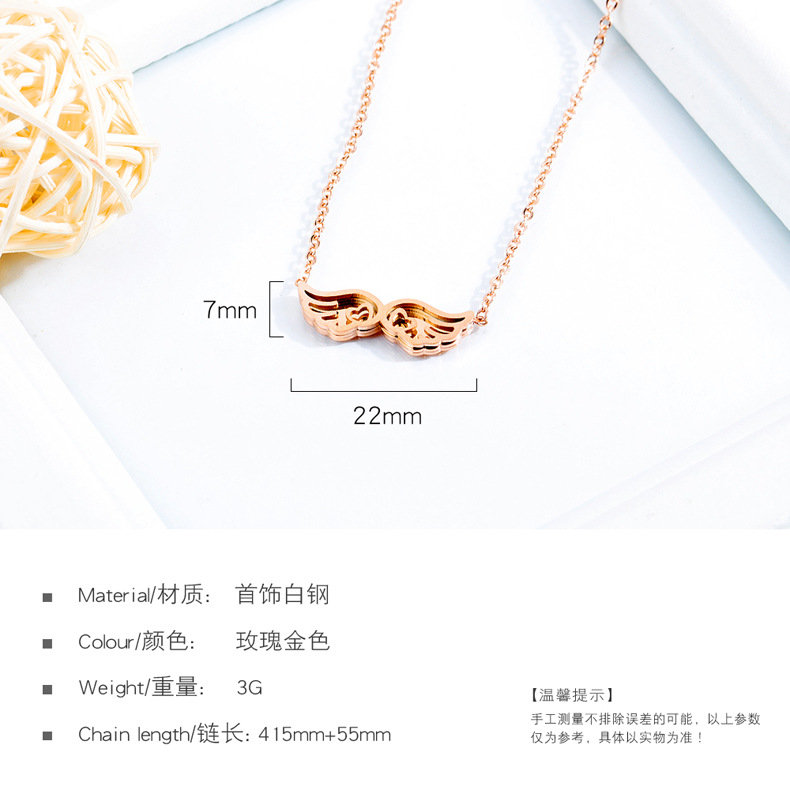 Titanium&Stainless Steel Korea Geometric necklace  (necklace)  Fine Jewelry NHOP3224-necklace