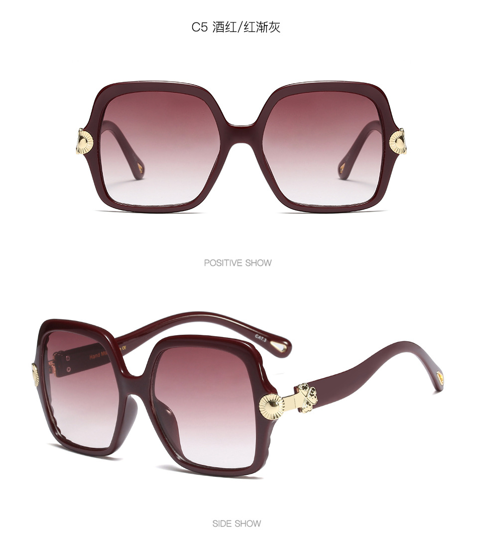 Acrylic Fashion  glasses  (As shown in Figure-C1)  Fashion Accessories NHFY0717-As-shown-in-Figure-C1