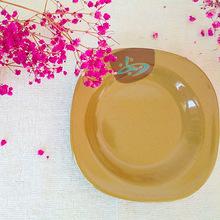 直销仿瓷密胺日式创意小盘子耐摔圆形小味碟调料味菜碟子碗碟盘子