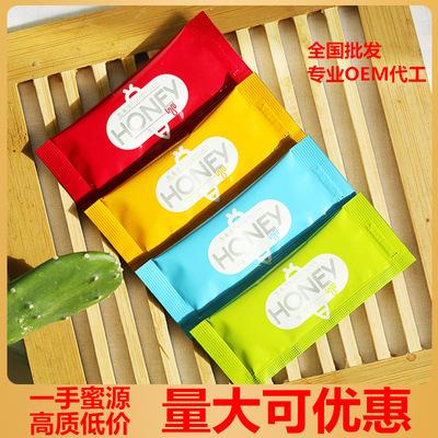货源【厂家直销】天然条状便携小袋装蜂蜜条装独立小包装蜂蜜 OEM贴牌批发