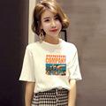 一件代发女装夏季韩版宽松2019新款短袖t恤女上衣服大码打底衫潮