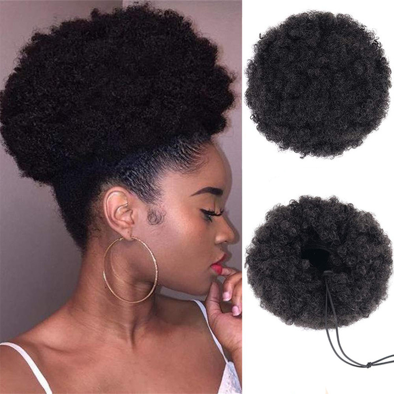 Afro Puff Hair Bun