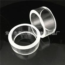 生产定制玻璃管低膨胀率耐高温高强度高硬度高透光率玻璃材料批发