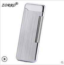 佐羅ZORRO超薄氣體ZC3三代砂輪個性煙斗打火機