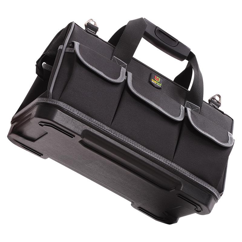 易乐奇手提工具包多功能维修帆布大号工具袋耐磨安装厂家批发定制