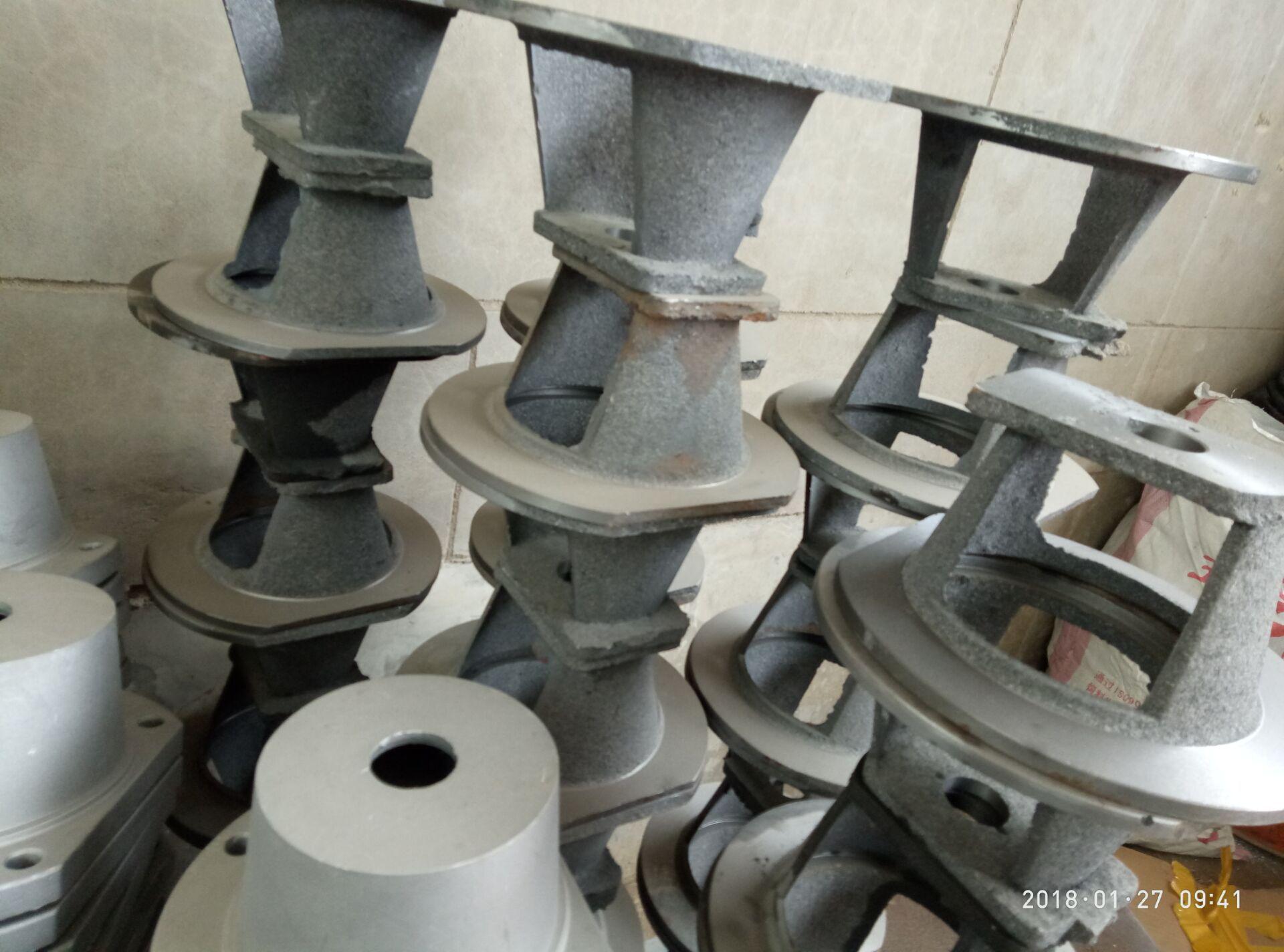 厂家直销 液压机械电机泵套 铝合金钟罩 铁