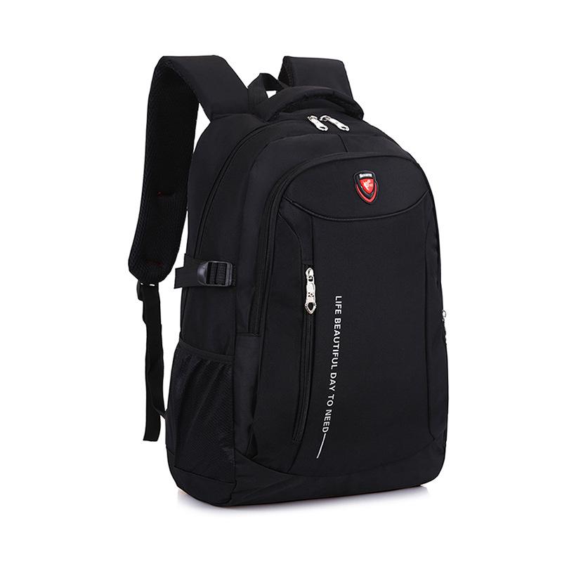 厂家直销双肩学生书包定制大容量旅行休闲背包男商务笔记本电脑包