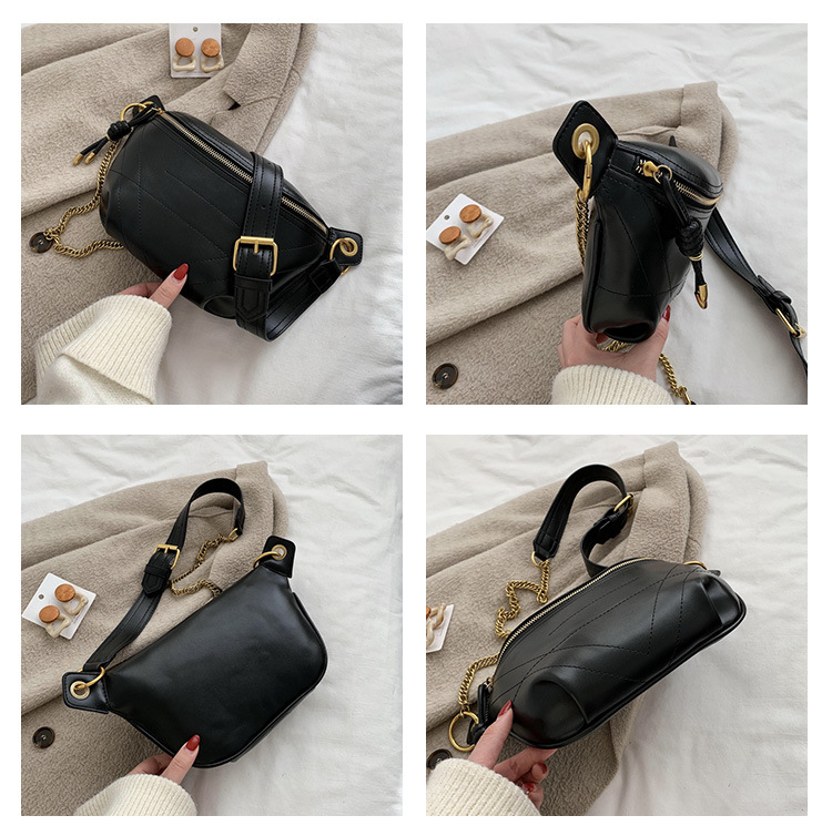New winter single shoulder messenger forest chain solid color casual women bag NHLD194006