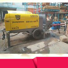40型混凝土输送泵生产厂家大型二次构造柱泵上料机细石砂浆输送泵