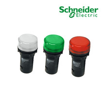 原装Schnider施耐德指示灯220V通用安全电源24VLED小型信号灯