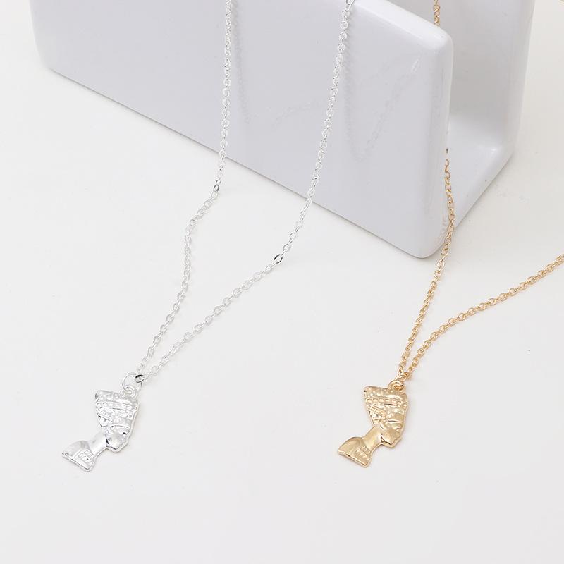 Alloy Fashion Geometric necklace  (Alloy)  Fashion Jewelry NHNZ1367-Alloy