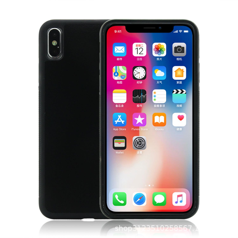 抖音反重力手机壳 适用苹果7plus手机壳 纳米吸附创意苹果手机壳