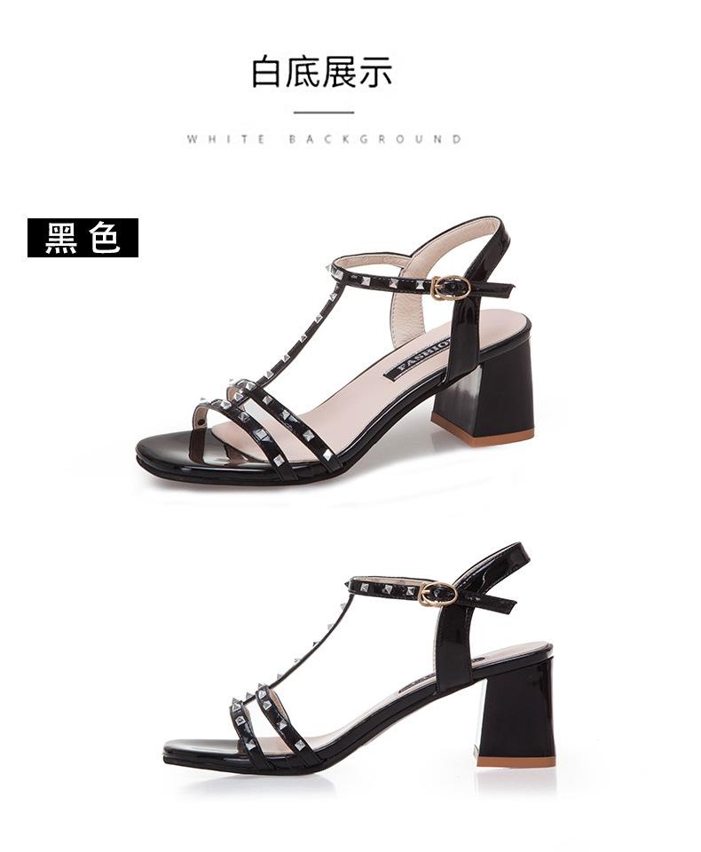 Chaussures été pour femme en Caoutchouc - Ref 3347486 Image 22