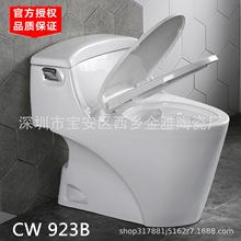 日本正品连体式马桶CW923GB陶瓷抽水坐便器智能盖节水家用坐厕