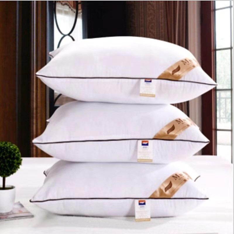 厂家直销专柜优质枕芯羽丝绒保健枕芯特价五星酒店枕头护颈枕