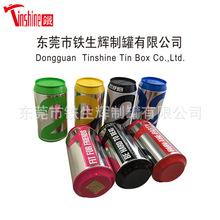 厂家定制马口铁罐 糖果铁盒 可乐罐造型铁罐