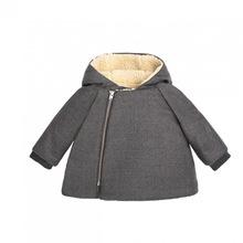 2019童裝棉衣加厚男童外套 連帽拉鏈衫新生兒寶寶棉襖0-3歲BP同款