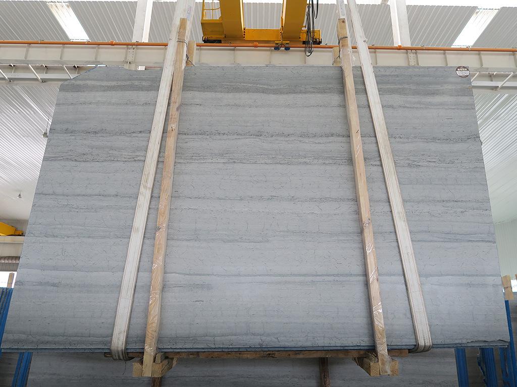 嘉岩石材批发 贵州天然蓝木纹石JYL1610051A 2.0cm厚大理石板