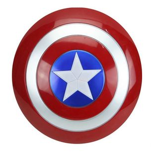 Captain America Shield 33cm Children's Light and Sound Shield Luminous Props Halloween Performance One Drop Delivery