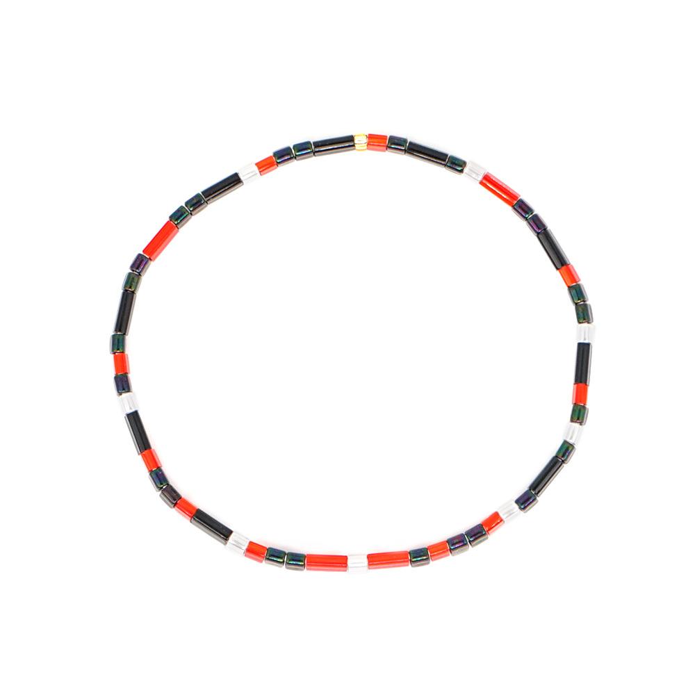 Pulsera mixta de cuentas TILA importadas de moda NHGW157831