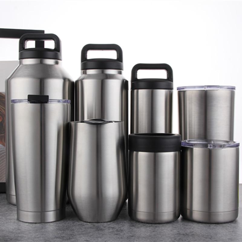 欧美市场不锈钢真空大肚保冷冰杯 户外不锈钢保温杯 30oz汽车杯