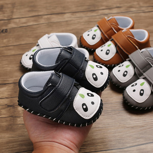Baby prewalker toddlers shoes baby boys and girls shoes walking shoes rubber soft soles antiskid month old baby shoes