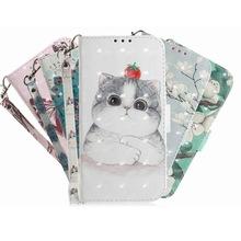 索尼Xperia10彩绘手机套华硕ZS630KL插卡皮套谷歌Pixel 3a保护套