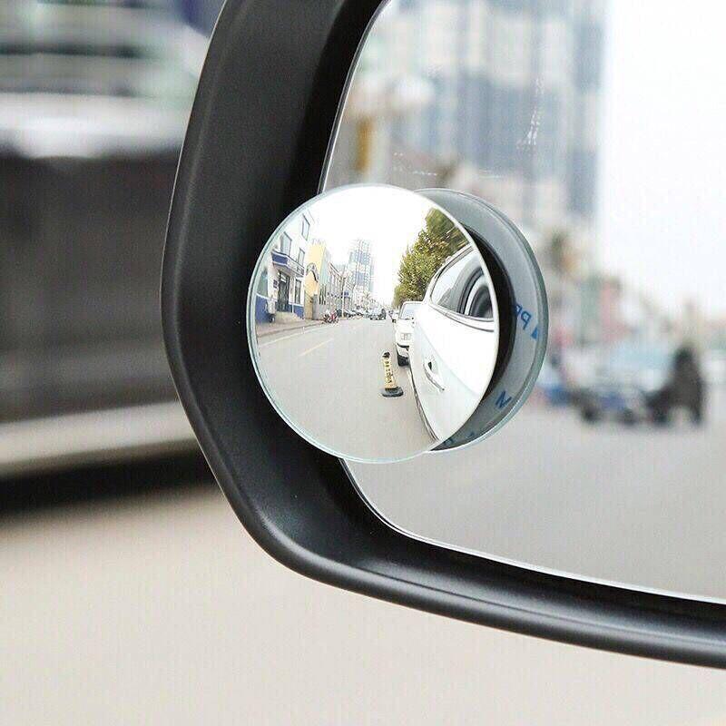 无边可调节360度倒车小圆镜 汽车专用倒车镜广角镜盲点镜