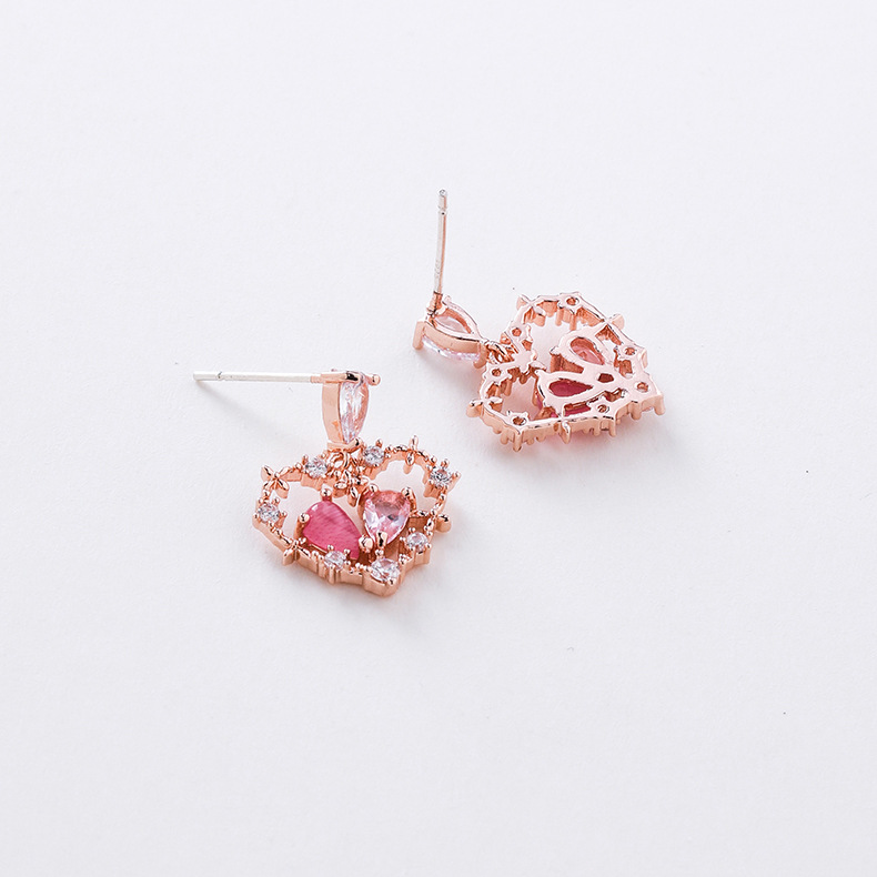 925 Silver Stitched Micro Stud Earrings wholesales fashion NHMS184469