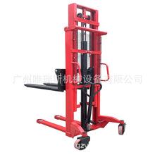 廠家3米C型鋼 液壓 手動堆高車 手動叉車 1噸 1.5噸 2噸出口專用