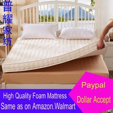 memory foam topper mattress bed 记忆海绵单双人床垫1.5米1.8m