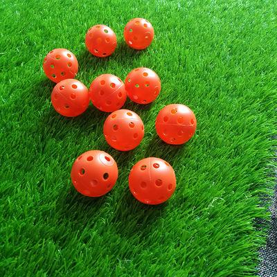 厂家直销 PE材质塑料玩具洞洞球 塑胶玩具空心球 26孔洞洞练习球