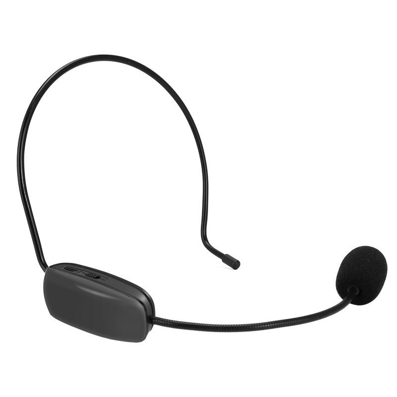 TNVI听为 K1 FM无线头戴话筒促销教学导游调频收音扩音器麦克风