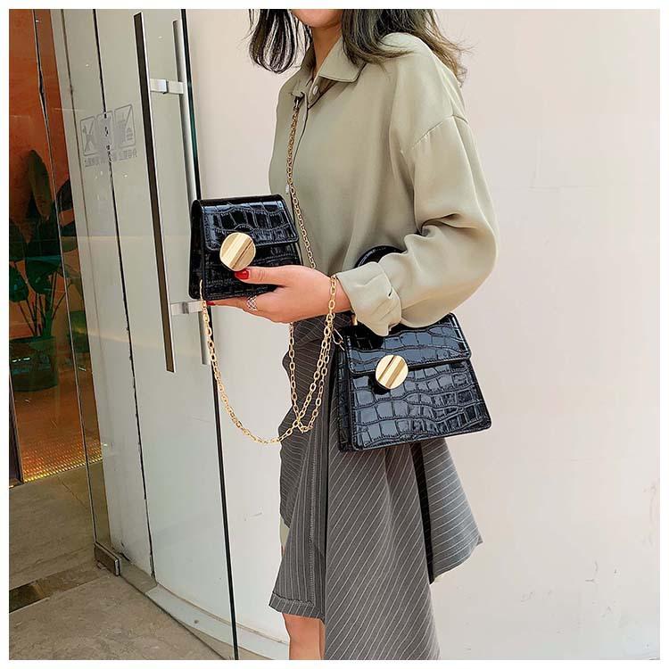 Fashion vintage stone pattern tote handbag NHPB122576