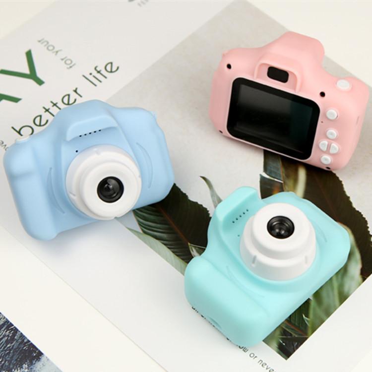 跨境热卖卡通儿童相机智能迷你照相机数码摄像X2儿童相机生日礼物