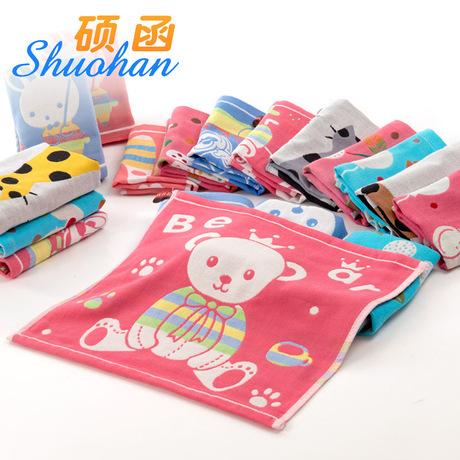 35 * 35cm cotton gạc ba lớp hình vuông lớn bán buôn em bé khăn nhỏ trẻ em có thể được liên kết với khăn tay bán buôn