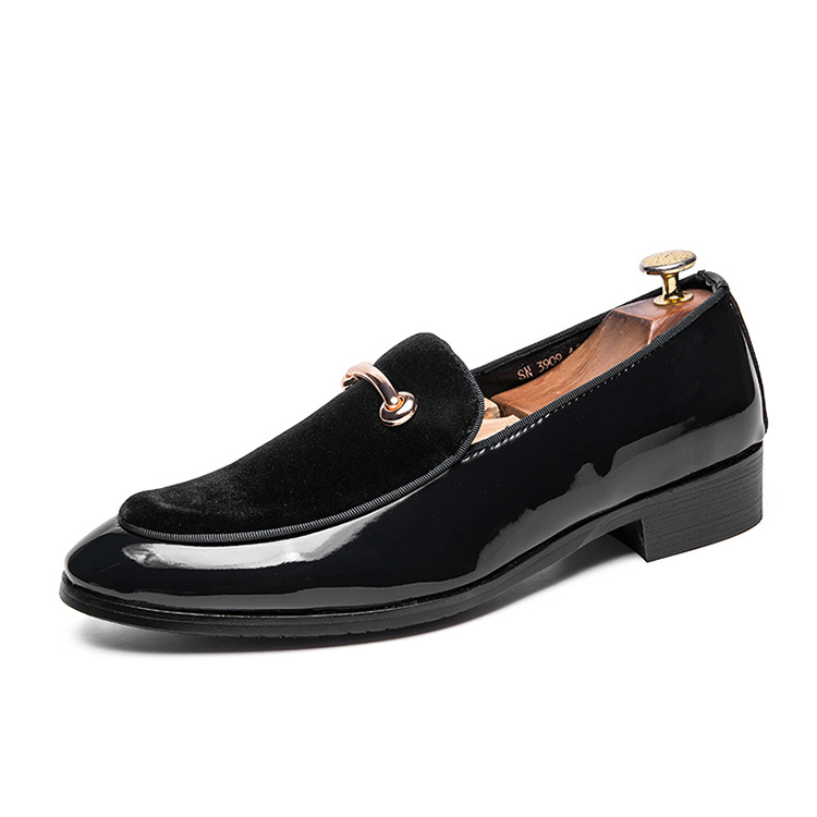 Cross-border Men Closed-toe Shoes British Tide Closed-toe Shoes European Version Of The Male Tao Jiao Students Male Shoes British 2019
