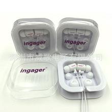 工廠定做扁線耳機 來圖定制logo面條線耳機 促銷禮品活動耳機