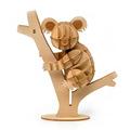 新款儿童益智玩具拼图 多功能考拉木质玩具拼装儿童益智积木玩具
