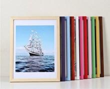 水粉白色海報框表相框掛墻擺臺背景墻黑畫框相貼表框材料刺繡