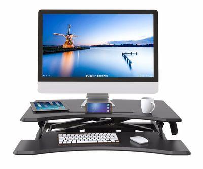 站立式可调电脑升降桌SD33 自由升降 可折叠人体工学电脑桌